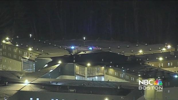 [NECN] Sky Ranger Over Shirley, Mass.  Prison