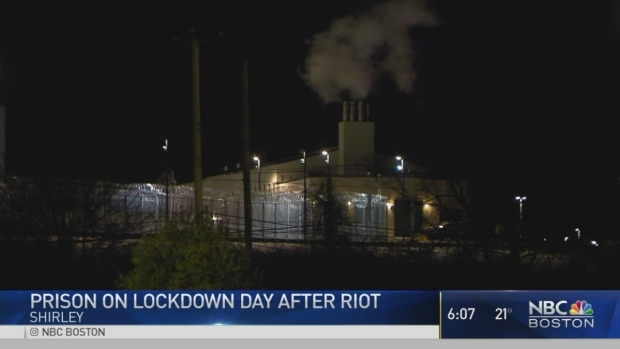 [NECN] Extensive Damage at State Prison After Inmate Disturbance