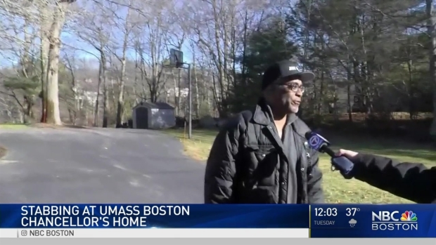 [NECN] Victim Stabbed During Party at UMass Chancellor's Home Identified