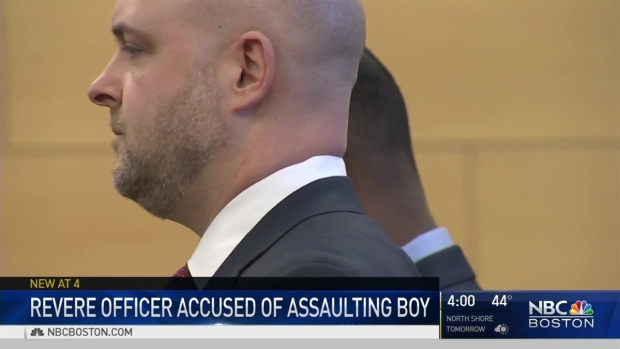 [NECN] Revere Officer Charged in Beating 5-Year-Old