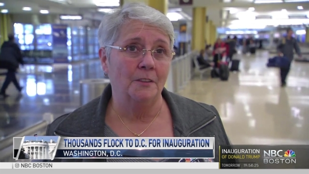 New Englanders Flock to DC for Inauguration
