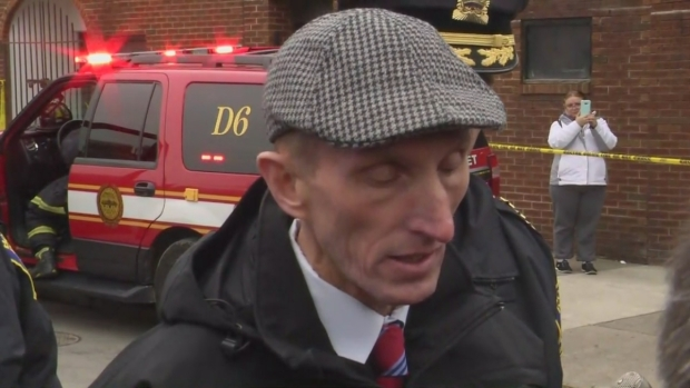 [NECN] Evans: Cruiser Was Set on Fire 'Deliberately'
