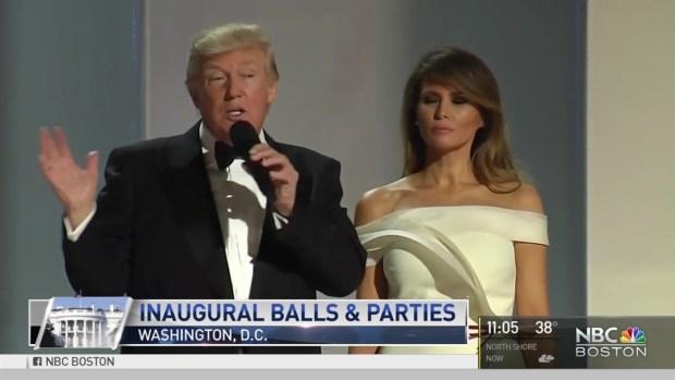 President Trump Honored at Inaugural Balls
