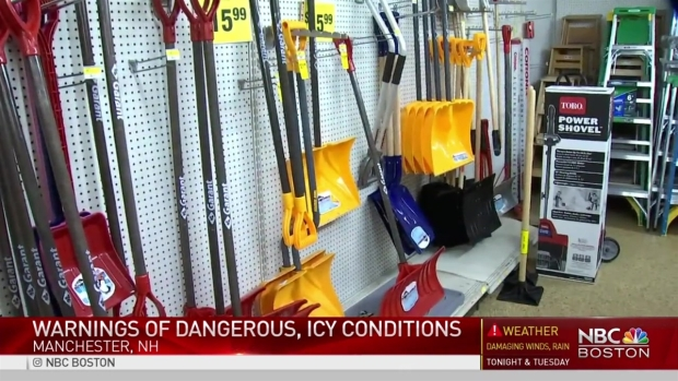 [NECN] Storm Brings Dangerous, Icy Road Conditions to New Hampshire