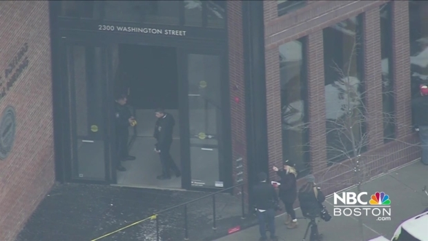 [NECN] Shots Fired Inside School Administration Building in Boston