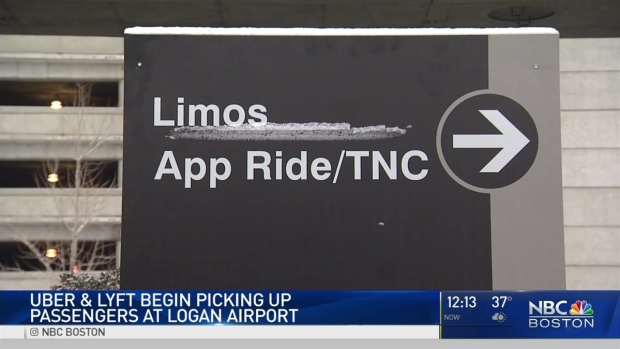 [NECN] Uber, Lyft Can Now Pick Up at Logan Airport