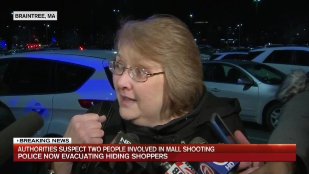[NECN] Mall Locked Down, Evacuated After Shooting