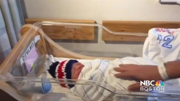 [NECN] Nurses Knit Patriots Hats for Babies Born on Super Bowl Sunday