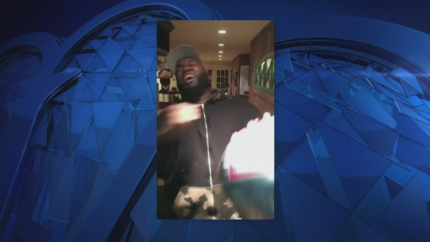 [NECN] David Ortiz Gets Pumped Over Patriots Comeback