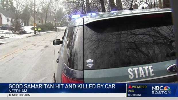 [NECN] Police: Father Hit, Killed by Vehicle After Trying to Help Son Stuck on Ice