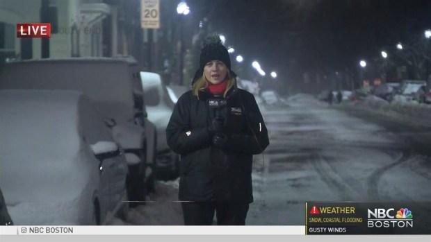 [NECN] Winter Storm Passes Through Mass.