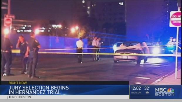 [NECN] Jury Selection Begins in Aaron Hernandez Trial