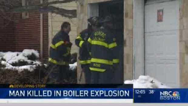 [NECN] One Man Dead After Boiler Explosion in Revere Home