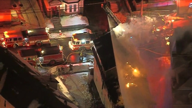 [NECN] Crews Fight 2-Alarm Fire in Lawrence, Massachusetts
