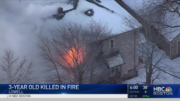 [NECN] 3-Year-Old Killed in Fire