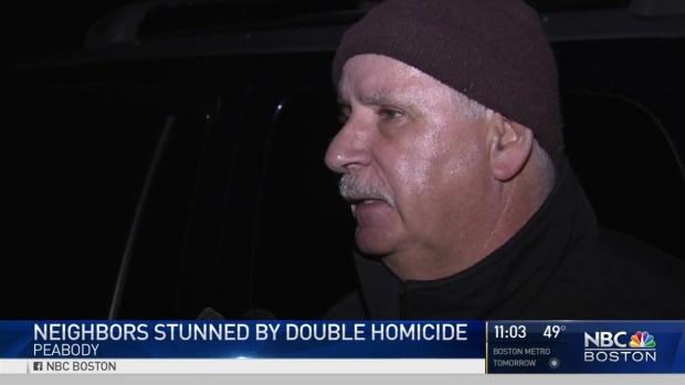 [NECN] Neighbors React to Double Homicide in Peabody