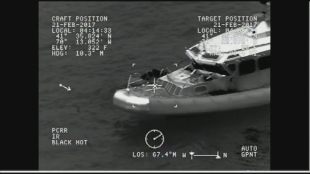 [NECN] Coast Guard Rescues Missing Boater in Yarmouth