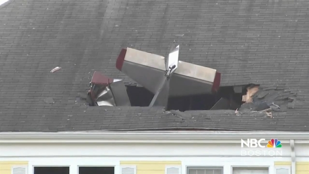 [NECN] 911 Calls Prior to Methuen Plane Crash Released
