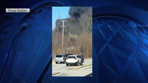 [NECN] Viewer Video: Fire Breaks Out in Tyngsboro, Mass.