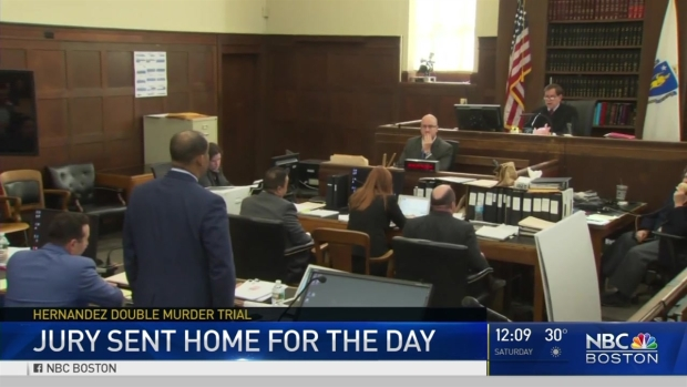 [NECN] New Details Emerge in Hernandez Trial