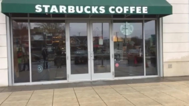 [NECN] Stabbing Takes Place Outside Starbucks in Medford
