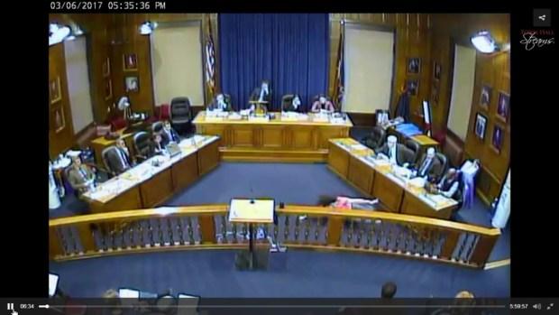 [NECN] Wild Interpretive Dance Performed at Portland City Council Meeting