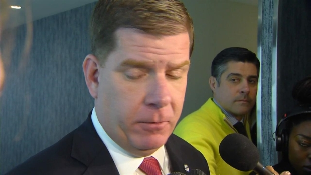 [NECN] Walsh 'Will Not Tolerate Discrimination,' Boycotts St. Patrick's Day Parade