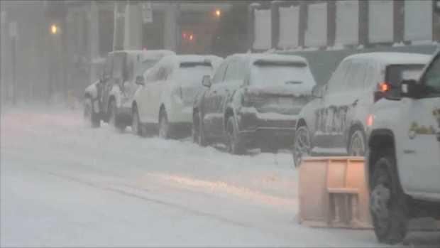 [NECN] Massachusetts Coast Prepares for Snow