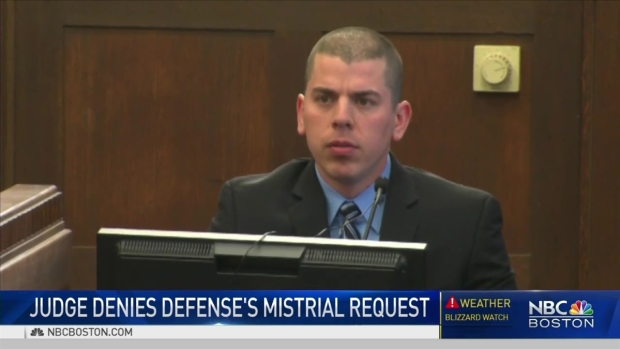 [NECN] Hernandez Defense Team Denied Mistrial Request