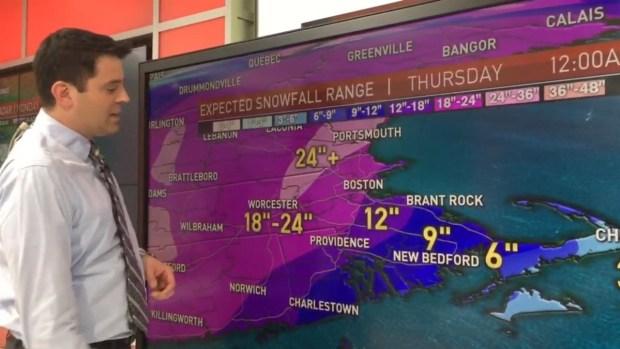 [NECN] Meteorologist Matt Noyes Talks Dangerous Blizzard