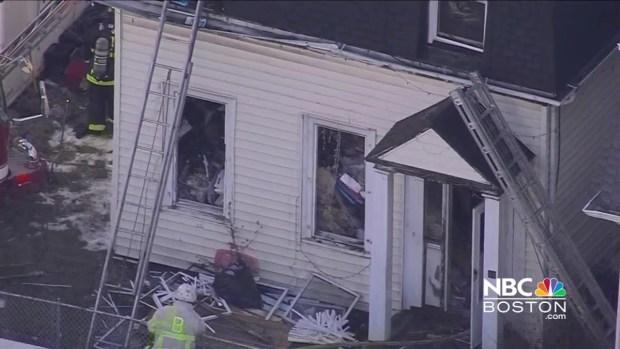 [NECN] Firefighters On Scene for 2-Alarm Fire in Boston