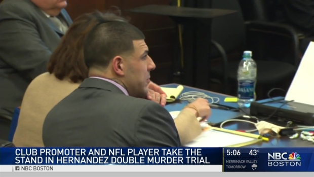 Club Promoter, NFL Player Take Stand in Aaron Hernandez Trial