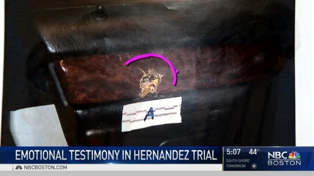 Forensics Expert Testifies in Hernandez Trial