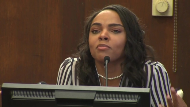 Hernandez's Fiancée Testifies in Double Murder Trial