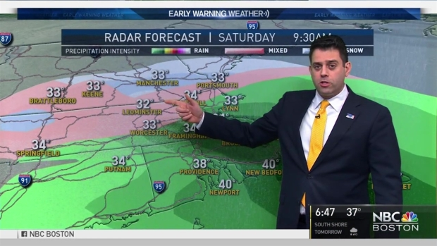 [NECN]Weather Forecast: Wintry Mix on the Way