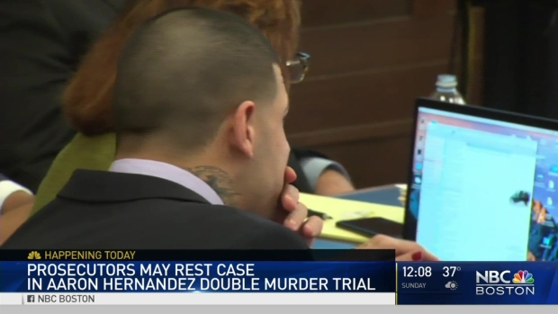 [NECN] Star Witness Returns to Stand in Aaron Hernandez Trial