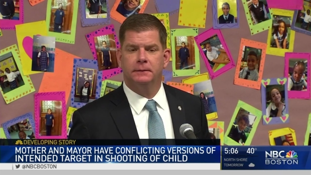 [NECN] Mother, Mayor Have Conflicting Versions of Intended Target in Shooting of Child