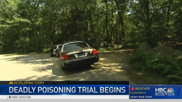 [NECN] Trial Begins in Deadly Poisoning of Bulger Extortion Victim