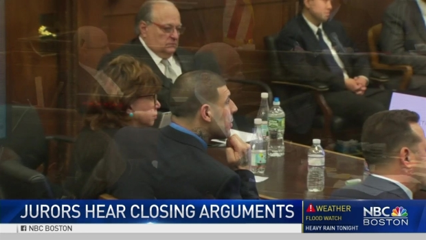 Verdict reached in Aaron Hernandez's double-murder trial