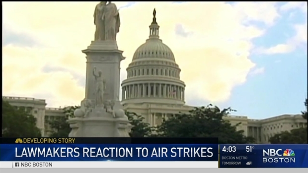 [NECN] Mass. Lawmakers React to Syrian Air Strike
