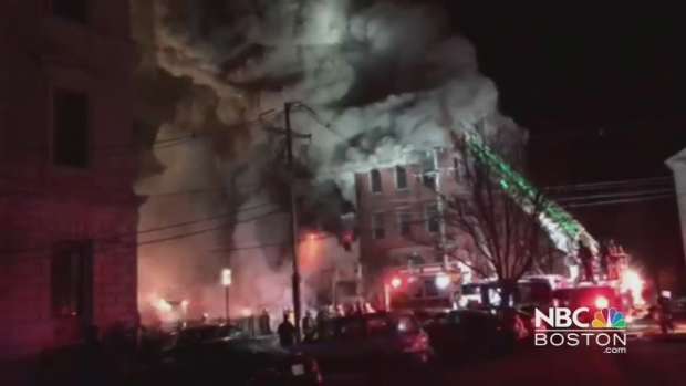 [NECN] Viewer Video: Building Collapses in Portsmouth, New Hampshire