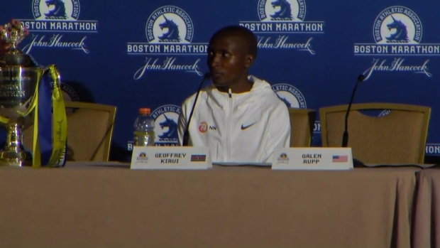 Boston Marathon Winner Geoffrey Kirui Reflects on Race