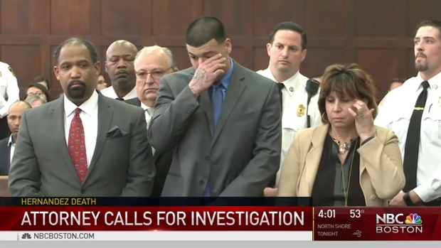 [NECN] Aaron Hernandez Dies by Apparent Suicide in Prison