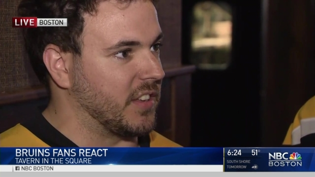 [NECN] Bruins Fans React to Overtime Loss