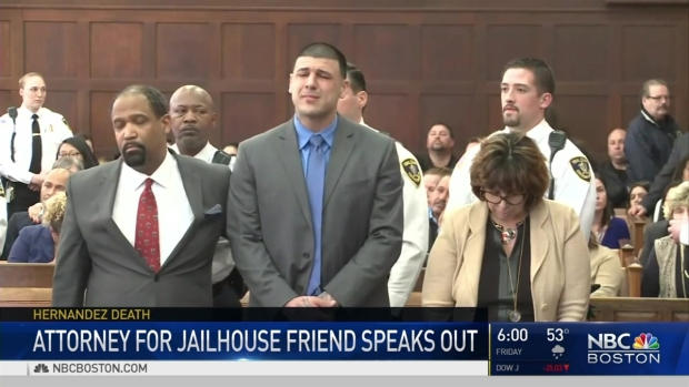 [NECN] Attorney for Aaron Hernandez's Jailhouse Friend Speaks Out
