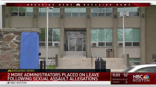 [NECN] 2 Admins on Leave From School After Administrator's Firing