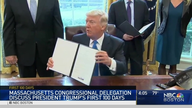 Mass. Congressional Delegation Discuss Trump's 1st 100 Days