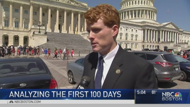 Democrats Would Give Trump's First 100 Days an 'F'