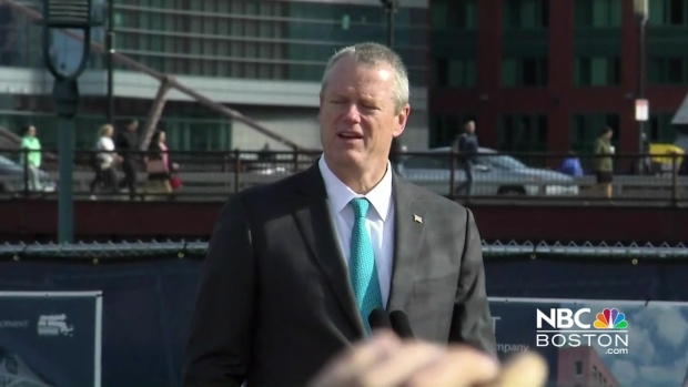 [NECN] Baker Talks Groundbreaking of GE in Boston