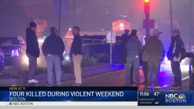 [NECN] 4 Killed During Violent Weekend in Boston